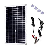 Best Solar Chargers - Solar Battery Charger 18W 12V 18V, Monocrystalline Flexible Review
