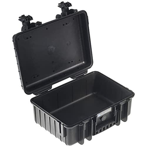 B&W - Valigetta per esterni tipo 4000, impermeabile, certificazione IP67, antipolvere, infrangibile e indistruttibile, made in EU