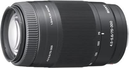 SONY 75-300mm F4.5-5.6 SAL75300 - International Version (No Warranty)