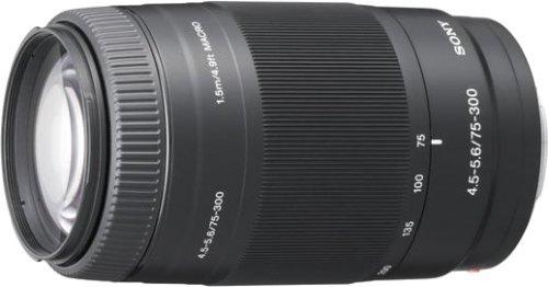 ソニー SONY 望遠ズームレンズ 75-300mm F4.5-5.6 フルサイズ対応