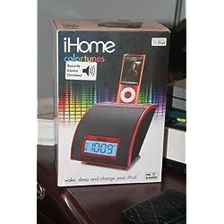 iHome iH110R FM Radio Alarm Clock