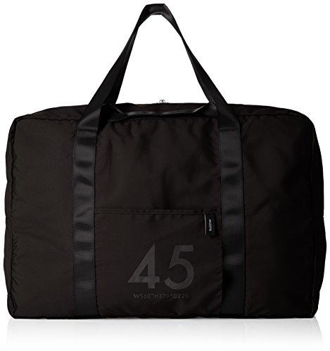 MILESTO ミレスト ボストンバッグ 大容量 メンズ レディース 旅行 軽量 折りたたみ かわいい おしゃれ 撥水 Utility 45L 37cm MLS526 (ブラック)