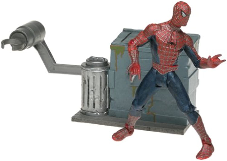SpiderMan Movie ToyBiz Action Figure Leaping SpiderMan