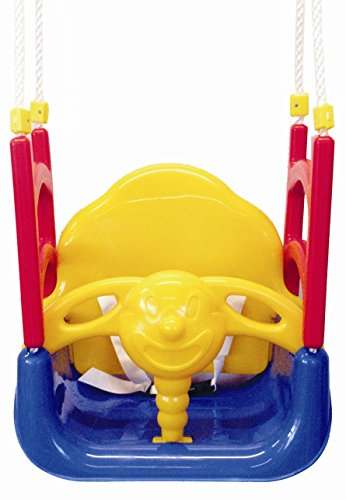 Izzy Babyschaukel 3-in-1 Schaukel Kinder umbaubar mitwachsend hoch 50 kg Tragkraft (Schaukel)