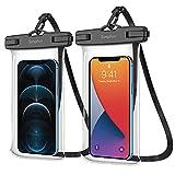 SIMPFUN wasserdichte Handyhülle Handytasche 7,0 Zoll (2 Stück) Handy Wasserschutzhülle IPX8 für Schwimmen Baden & Kochen ,für iPhone 12pro/12pro max/iPhone 11/iPhone 8/Galaxy S20/HUAWEI P30/xiaomi