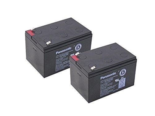Kompatibler Accu Alber Schiebehilfe Bremshilfe Viamobil V15 24V 2x 12V 15Ah AGM