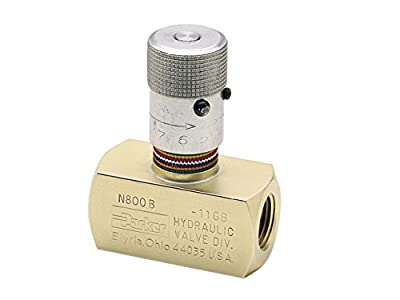 Parker N420S Colorflow Needle Valve - SAE from Parker