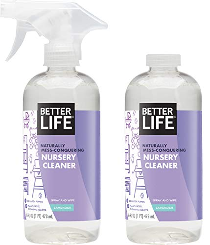 Better Life Nursery Cleaner & Chamomile, Clear, Chamomile-lavender, 16 Fl Oz (Pack of 2)