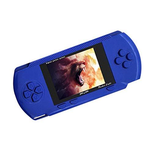 INEP Hand-retro-spelconsole met 132 klassieke PSP FC-spellen, draagbare mini-tas, gaming tv-uitgang, klassieke retro handheld-console