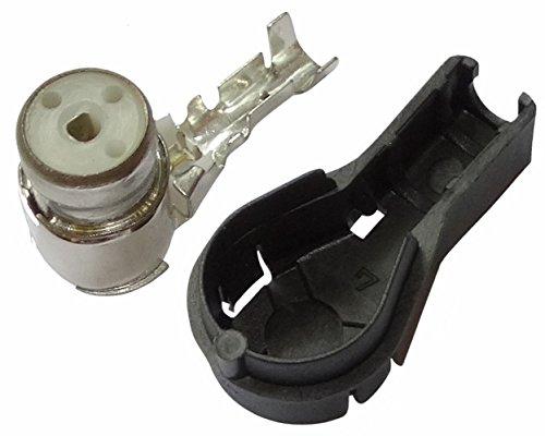 AERZETIX: Fiche Femelle coudée ISO à sertir pour antenne Auto autoradio câble RG174