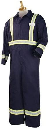 REVCO National Classic products BLACK STALLION FR COVERALLS - FN9-32C PASS-THROUGH NAVY w