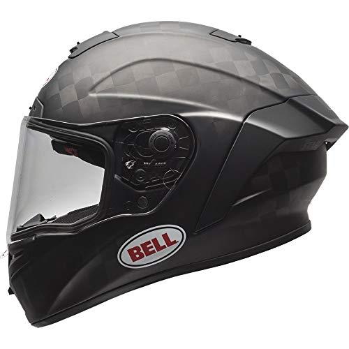 Motodak Helm Bell Pro Star Solid Matt Black Größe XL