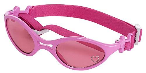 Doggles K9 Optix Shiny Pink Rubber Frame with Pink Lens Sunglasses, Medium