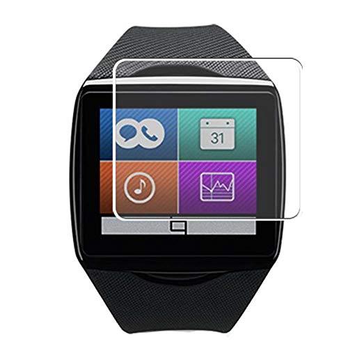 Vaxson 3 Stück Schutzfolie, kompatibel mit Qualcomm Toq smartwatch smartwatch Smart Watch, Displayschutzfolie Bildschirmschutz Blasenfreies [nicht Panzerglas]