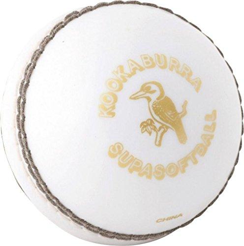 KOOKABURRA Kids' Supercoach Super Softa Ball, White, One Size