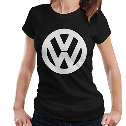 Volkswagen Classic White VW Logo Women's T-Shirt