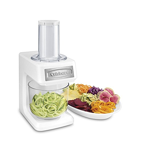 Cuisinart SSL-100 Prep Express Slicer, Shredder and Spiralizer, White