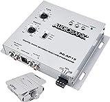 Audiobank 1/2 Din Car Audio Digital Bass Processor, Sound Restoration & Crossover for Car Subwoofer with Bass Knob/Input Level: 15V RMS & Output Level: 13.5V Peak