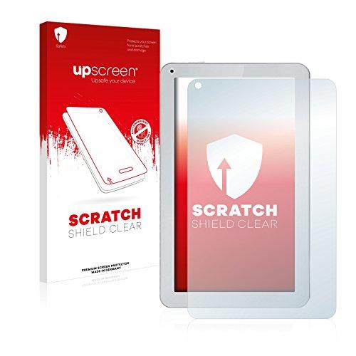 upscreen Schutzfolie kompatibel mit irulu eXpro X1Plus – Kristallklar, Kratzschutz, Anti-Fingerprint