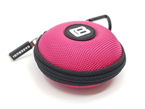 Best Buy Casebudi Pink Small Case For Your Earbuds Ipod Shuffle Ipod Nano Iphone Charger Coins Or Small Bluetooth Headset Rasonuhe