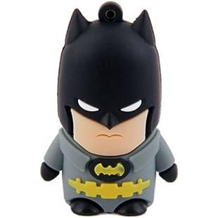Super Hero USB Memory Stick - Flash Drive Data Storage - Pen Drive No.1 Seller (Batman, 8G)