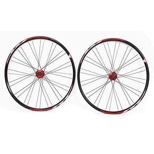 HJRD Paire de Roues VTT 29 Pouces arrière/Avant, Roues de vélo de vélo de Montagne ultraléger à...