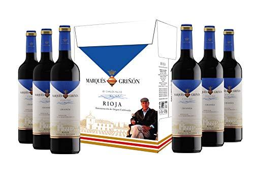 Caja de Marqués de Griñón D.O. Rioja Selecc. Especial Crianza - 6 botellas x 750 ml