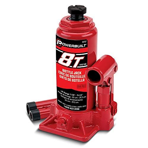 Powerbuilt 647527 Heavy Duty 8-Ton Bottle Jack