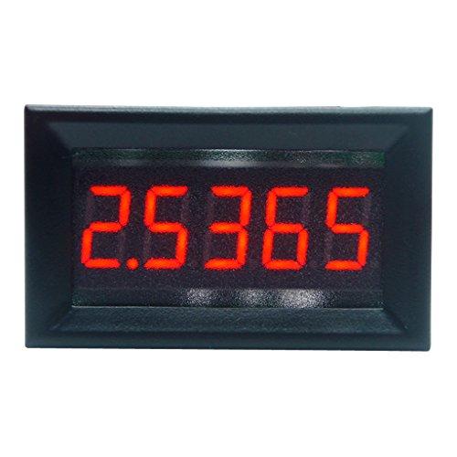JunYe DC 0-5.0000mA (5mA) Digitales Amperemeter 5-stellige Strommessanzeige 0,36 Zoll