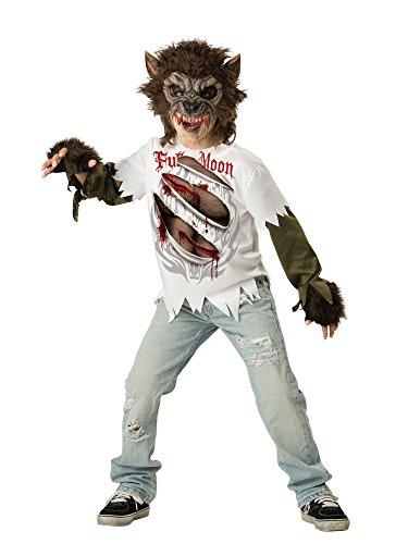 Disfraz Hombre Lobo Para Niño -Premium 12-14 Años (152/164)
