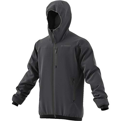 adidas Light Insulated Veste Homme, Carbone, FR : L (Taille Fabricant : 54)