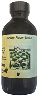 OliveNation Juniper Flavor Extract - 2 oz - Gluten-free, Kosher, and Made in the USA - Premium Quality Flavoring Extract For Baking