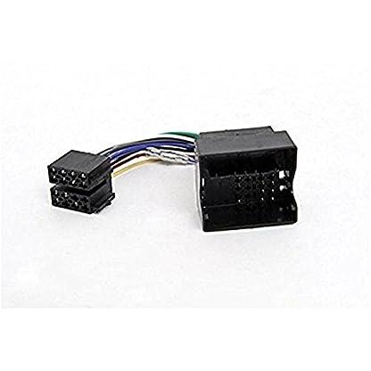 Sound-way-1-DIN-Autoradio-Radioblende-RadioRahmen-ISO-Verbindungskabel-Antennenadapter-kompatibel-mit-Mini-Cooper