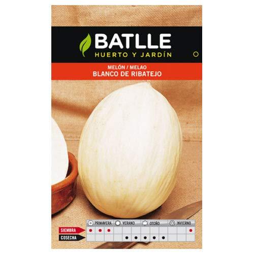 ScoutSeed Semillas de hortalizas Batlle - Melón blanco de Ribatejo (8 g)