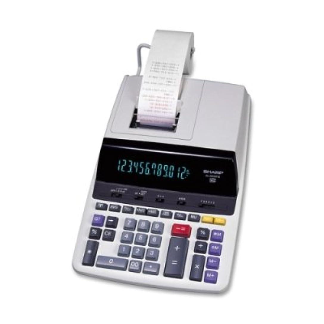 ( 3パック値バンドル) shrel2630piii el2630piii 2色印刷電卓12桁、蛍光灯、ブラック/レッド