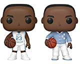 Funko Pop! Basketball: University of North Carolina Michael Jordan Collectible Vinyl Figures, 3.75' (Set of 2)