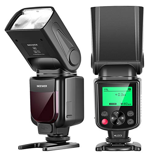 Neewer 750II TTL Flash Speedlite para Nikon D7200 D7100 D7000 D5500 D5300...