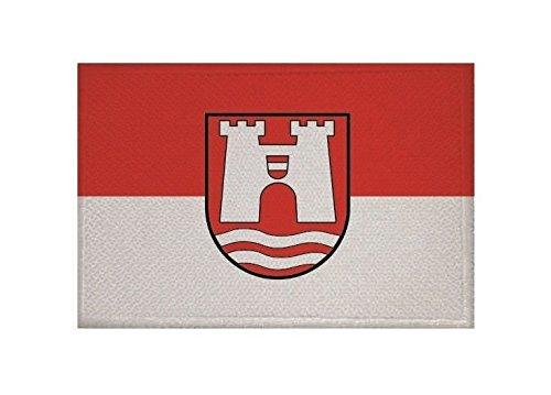 U24 Aufnäher Linz Fahne Flagge Aufbügler Patch 9 x 6 cm
