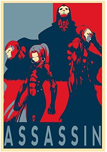 YEAHTOPE Póster Fate Zero Propaganda Assassin - Formato A3 (42x30 cm)