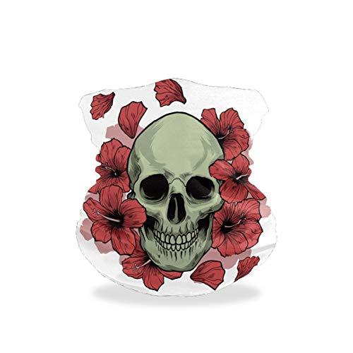 Asiga Cache-cou pour femme Motif crâne Taille unique Multicolore 7