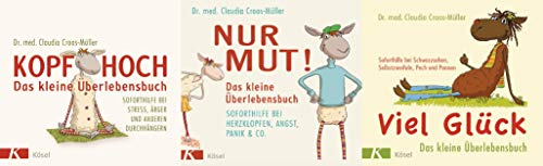 Drei Titel im Set: Kopf hoch /Nur Mut/ Viel Glück + 1 exklusives Postkartenset