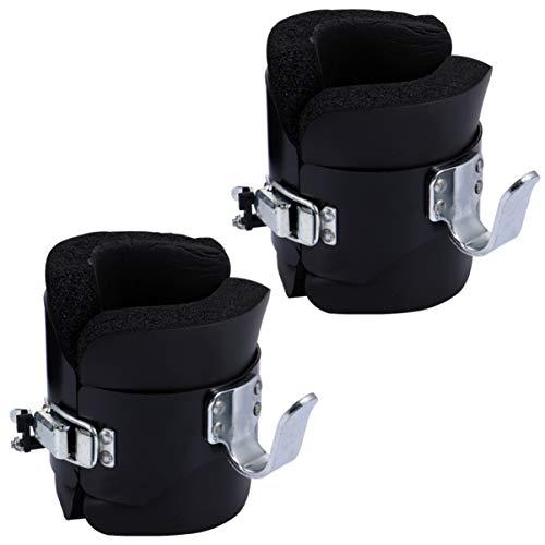 BESPORTBLE Anti-Schwerkraft-Inversionsstiefel Knöchel-Schwerkraft-Stiefel Abdominal Crunch Sit-Up-Bar Haken Inversionsgeräte Therapie Core Gym Fitness-Trainer