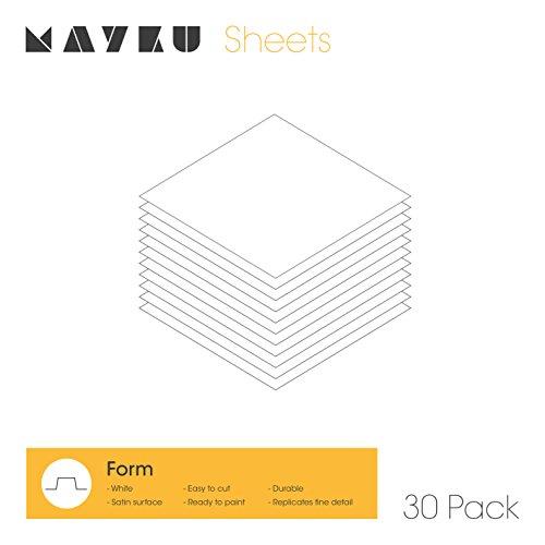Mayku Form Sheets 30 pack voor de Mayku FormBox: een desktop vacuüm voormalig die uw ideeën tot leven brengt.