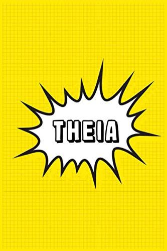 Theia: Personalized Name Theia Notebook, Gift for Theia, Diary Gift Idea