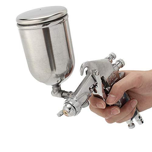 Pulido Pistola Eléctrica 400ML de succión de alimentación de pintura gravedad rociador 1/4