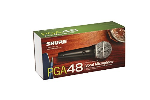 シュアー SHURE PGA48-LC ダイナミック型マイクロホン 付属ケーブルなし) ワイヤレスマイク