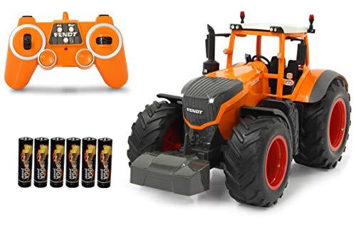 BUSDUGA RC Ferngesteuerter Traktor FENDT 1050 Vario 1:16 ORANGE Kommunal inkl. Batterien, 2.4Ghz, Sound, RTR ,...