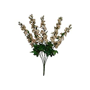 30″ Larkspur Delphinium Silk Flowers Bush Wedding #FF56