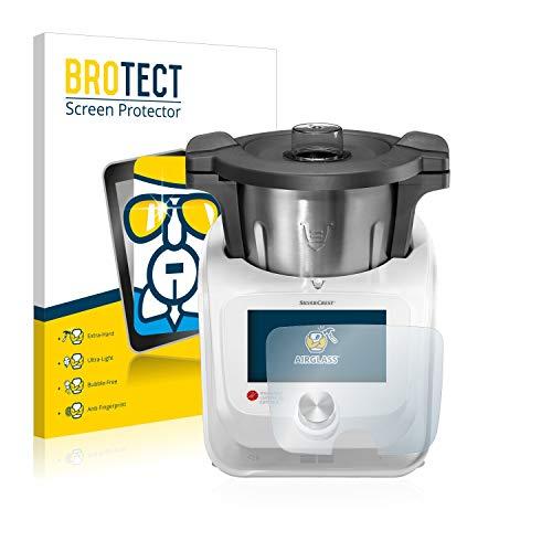 brotect Protection Ecran Verre Compatible avec SilverCrest Monsieur Cuisine Connect Film Protecteur Vitre 9H Anti-Rayures, AirGlass