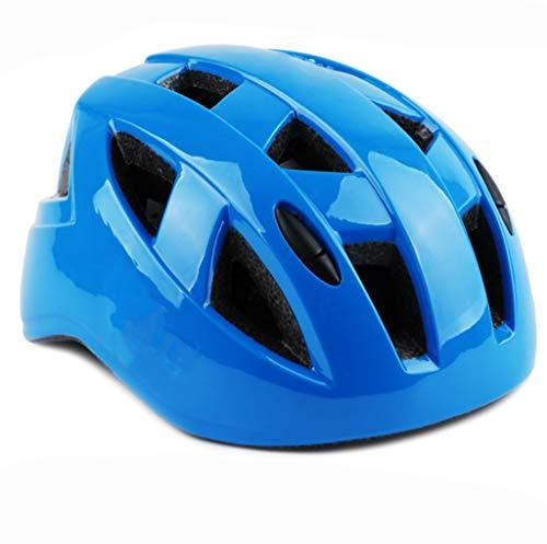 Outdoor sport houlian winkel Koninklijke Blauw Schaatsen Helm Geïntegreerde Molding Fiets Helm Skateboard Twist Car Balance Auto